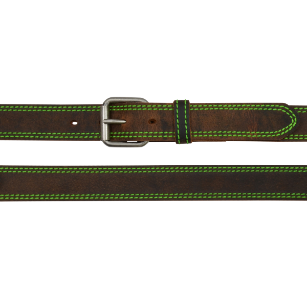 Double Row Stitched Belt