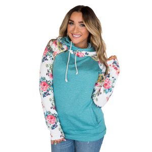 Women's  Between You & I DoubleHood Sweatshirt