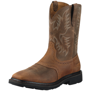 Men's  Sierra Square Toe Steel Toe Boot
