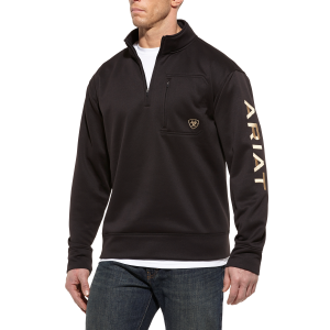 Men's  Tek Fleece Logo 1/4 Zip