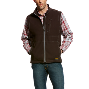 Men's  Rebar Canvas Softshell Vest
