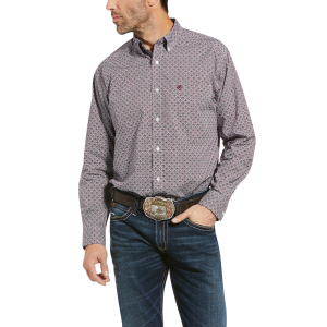 Men's  Ramsdale Print Button Down Shirt