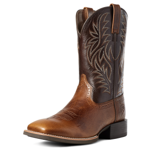Men's  Sport Western Wide Square Toe
