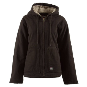 Women's  Washed Hooded Coat