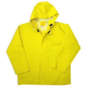 Men's  Lined PVC Rain Jacket