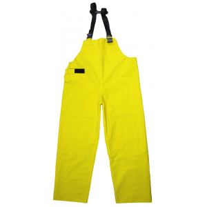 Men's  Lined PVC Bib Overalls