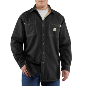Men's  Flame-Resistant Canvas Shirt Jac