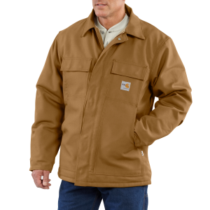 Men's  Flame-Resistant Duck Traditional Coat