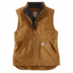 Women's  Sherpa-Lined Mock Neck Vest