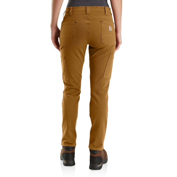 Rugged Flex Straight Fit Twill Double Front Pant