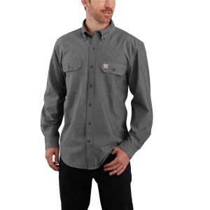 Men's  TW368-M Midweight Long Sleeve Button Down Shirt
