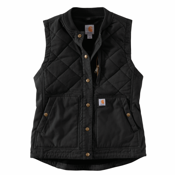 Rugged Flex Canvas Insulated Rib Collar Vest