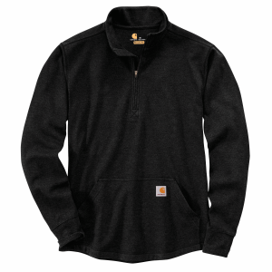 Men's  Relaxed Fit Heavyweight Long Sleeve Half-Zip Thermal Shirt