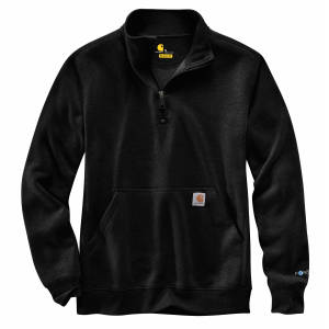 Men's  Force Relaxed Fit Midweight Quarter-Zip Pocket Sweatshirt