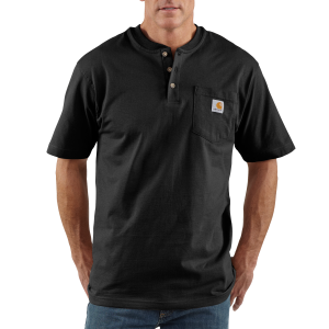 Men's  Short Sleeve Workwear Henley