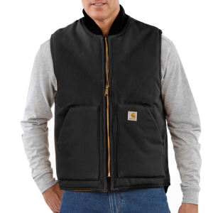 Men's  Duck Vest/Arctic-Quilt Lined