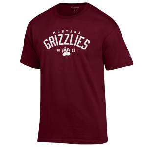 Men's  University of Montana Grizzlies Logo Tee