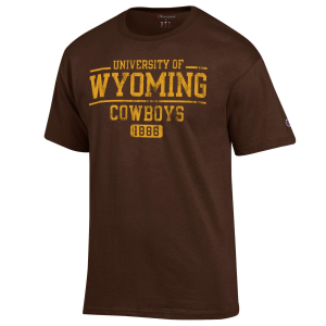 Men's  University of Wyoming Cowboys Tee