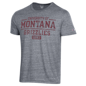 Men's  University of Montana Grizzlies Triblend Tee