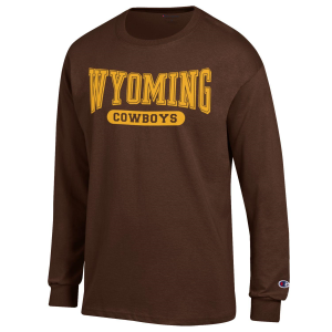 Men's  University of Wyoming Cowboys Long Sleeve Tee