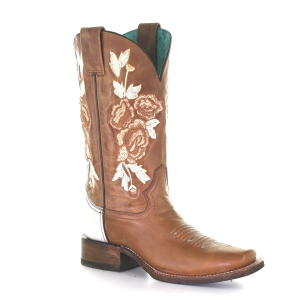 Women's  Honey Floral Western Boot