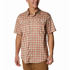 Men's  Silver Ridge Lite Plaid Short Sleeve Shirt