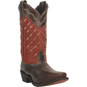 Women's  Laced Narrow Square Toe Western Boot