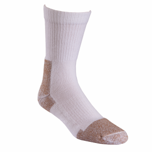 Men's  Steel-Toe Crew Sock 2 Pack
