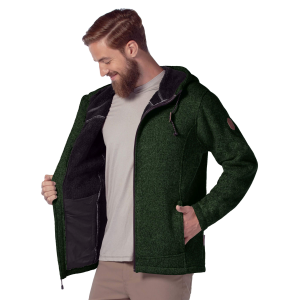 Men's  Osprey Sweater Knit Fleece Jacket