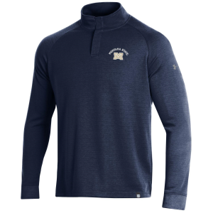 Men's  Montana State Bobcats Double Knit 1/4 Snap