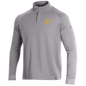 Men's  Wyoming Cowboys Double Knit 1/4 Snap