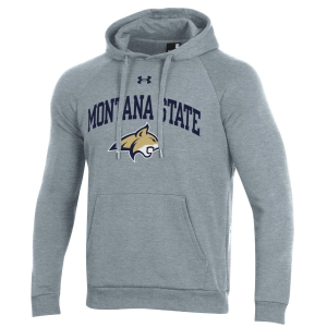 Men's  Montana State Bobcats Gray All Day Fleece Hoodie