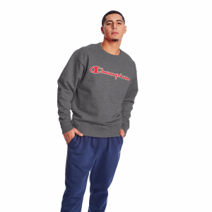 Men's  Champion Powerblend Fleece Crew