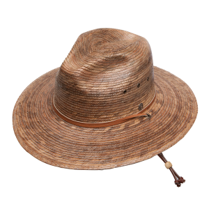 Rustic Outdoor Stained Palm Hat