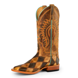 Men's  Crazytrain Patchwork Boot