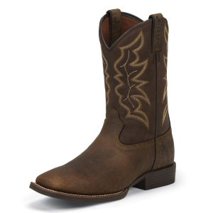 "Men's  11"" Chet Pebble Brown Western Boot"