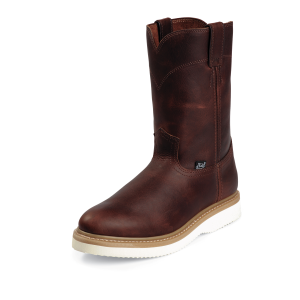 Men's  Pull-On Workboot Wedge Outsole