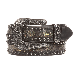 Women's  Snake Studded Belt