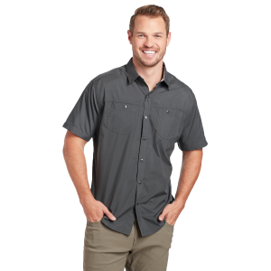 Men's  Stealth Short Sleeve Snap Shirt