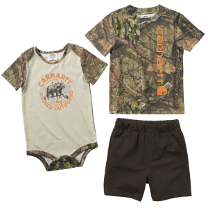 Boys'  Infant 3-Piece Camo Short Set