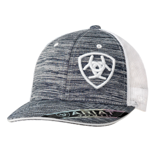 Kids'  Offset Shield Logo Mesh Back Cap