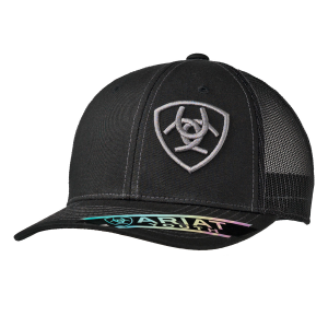Kids'  Shield Logo Mesh Back Cap