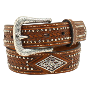 Boys'  Diamond Concho Belt