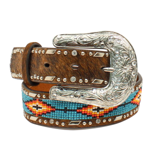 Girls'  Beaded Inlay Belt