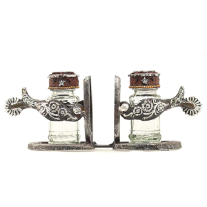 Spur and Horseshoe Salt & Pepper Shakers