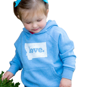 Toddler Our First Love Montana Hoodie