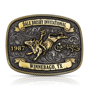 Men's  Dale Brisby Invitational 1987 Trophy Buckle