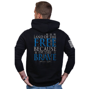 Men's  Because of the Brave Hoodie
