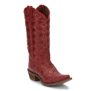 Women's  Bessie Red Western Boot