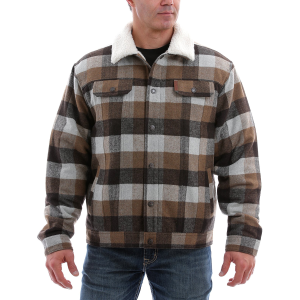 Men's  Concealed Carry Trucker Jacket